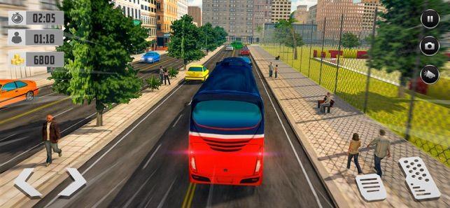 总线驾驶出租车仿真器游戏最新版图1: