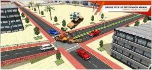 无人机运输模拟器游戏中文手机版图片1