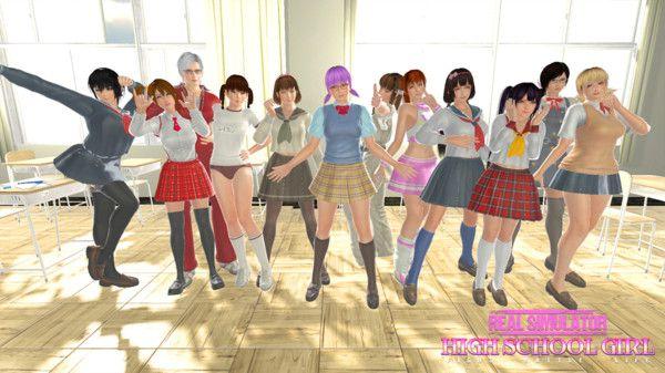 高校女生战役游戏官方版图1: