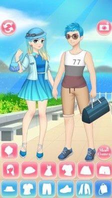 动漫高校情侣游戏无限金币破解版图片1