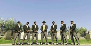 抖音黑人抬棺专业团队五黑头像图片免费分享图片1