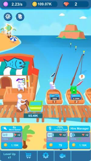 空转钓鱼者游戏无限金钱版图片1