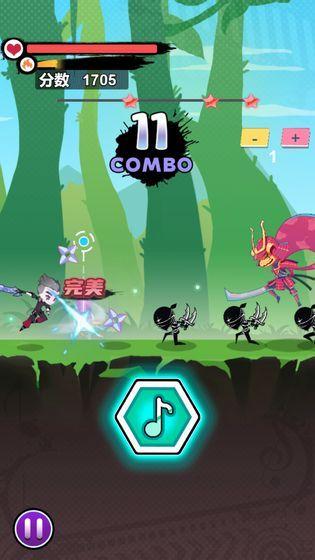 节奏大侠游戏无限钻石体力版图3: