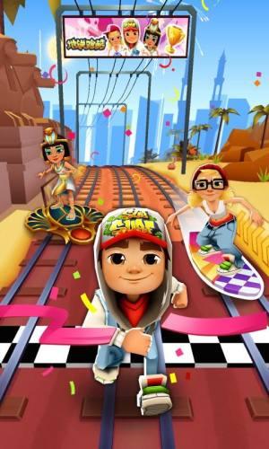 地铁跑酷3.06.0埃及开罗内购破解版图片1