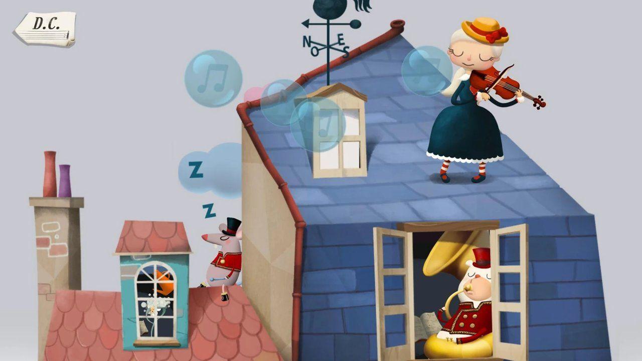 4个孩子的梦想与音乐游戏最新版图3: