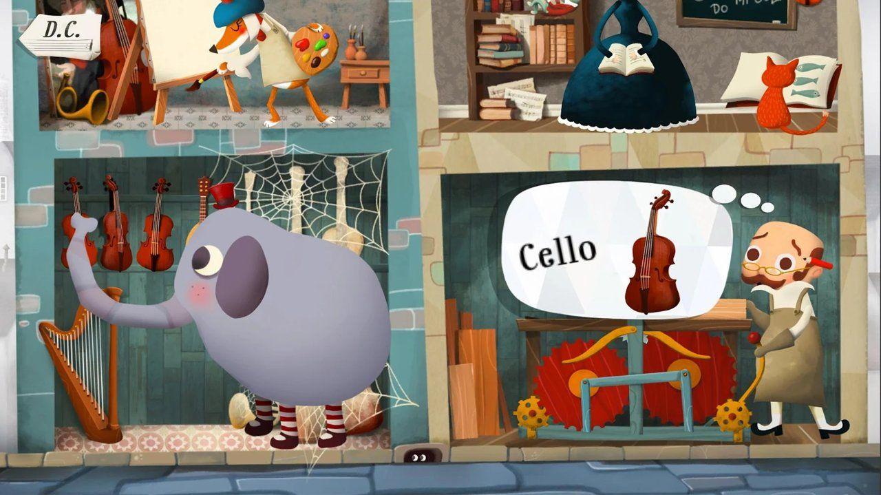 4个孩子的梦想与音乐游戏最新版图1: