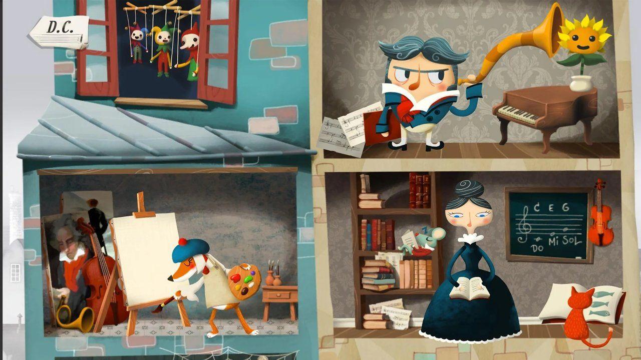 4个孩子的梦想与音乐游戏最新版图2: