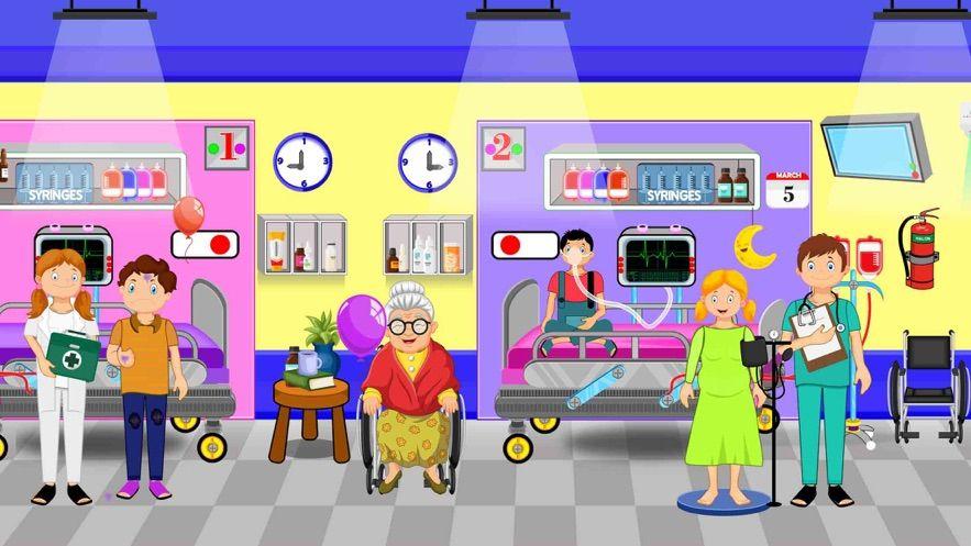 假装镇医院游戏官方中文版图片1
