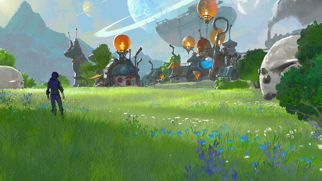 腾讯代号N游戏场景截图:新手村灵泉镇一览[多图]图片3