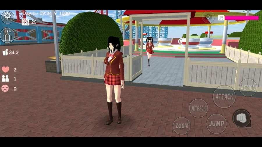 樱花校园模拟器黑店姐姐1.4中文版修改版图2: