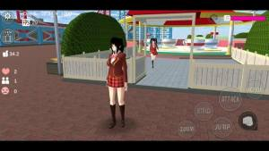 樱花校园模拟器中文礼服最新版图片1