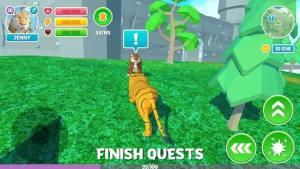 冬季老虎家庭模拟器3D破解版图3