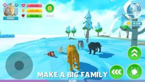 冬季老虎家庭模拟器3D游戏无限体力破解版图片1
