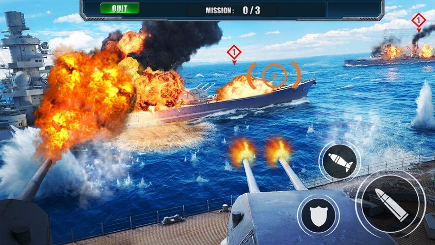 和平战舰官网版手游图片1