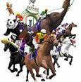 日本搞笑赛马游戏