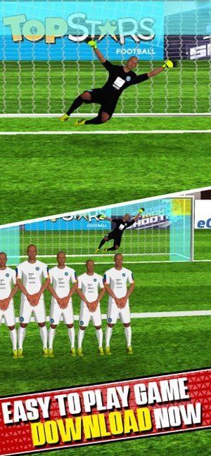 踢足球射手游戏图1