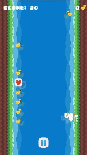 像素鸭冲冲冲游戏图2