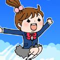 跳上天空女孩游戏