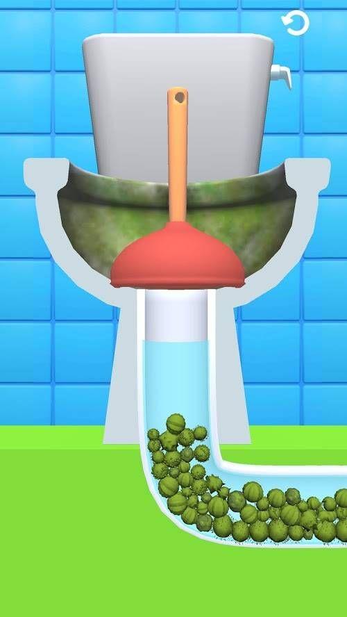 我冲马桶贼溜游戏最新安卓版图片1