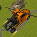 直升机卡车飞行游戏