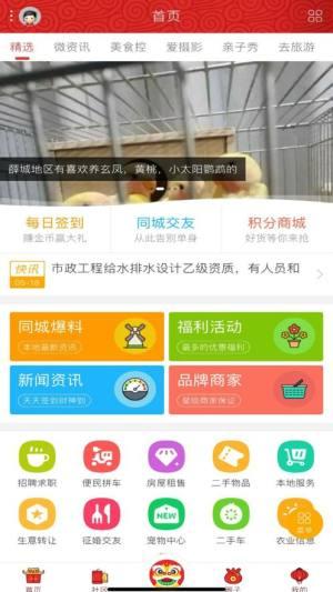 同城枣庄APP手机客户端图片1