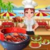 海滩胜地烧烤厨师游戏