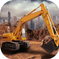 3D挖掘机建造模拟游戏