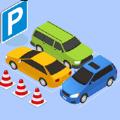 停车卡纸停车场拼图3D中文版