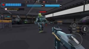 机器人狙击战场游戏无敌破解版图片2