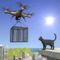 动物救援无人机飞行中文版