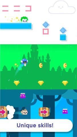 方块兔子历险记无限金币版图2