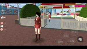 樱花中学模拟器老版彩蛋最新版图片1