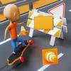 快乐的滑板3D游戏