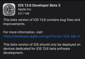 iOS13.6Beta3预览版描述文件图1