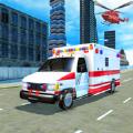 救护车拯救驾驶游戏