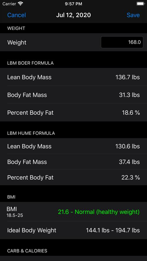 瘦体重APP手机版图2:
