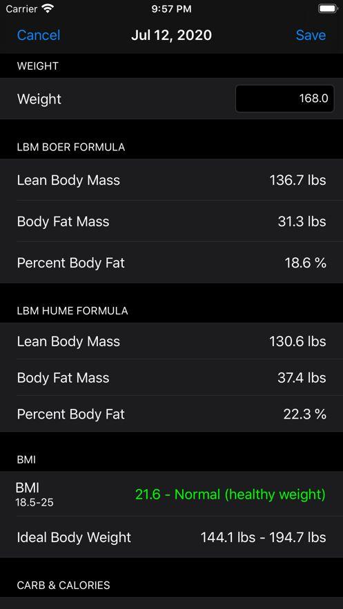 瘦体重APP手机版图片1