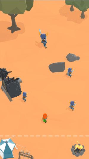 孤军队伍游戏图3