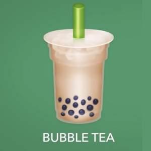 苹果ios14珍珠奶茶表情包图3