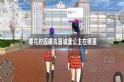 樱花校园模拟器城堡公主怎么找到?城堡公主位置坐标分享[多图]