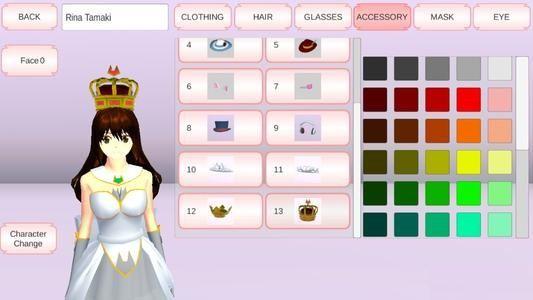 樱花校园模拟器皇冠怎么获得?1.035.15中文版公主服和皇冠获取攻略[多图]图片2