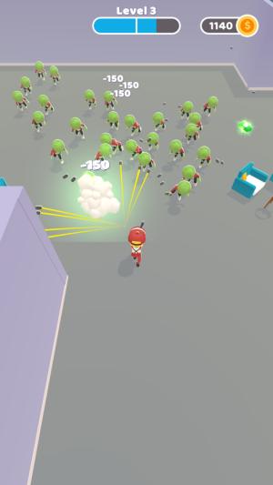 Guy vs Zombies游戏图2