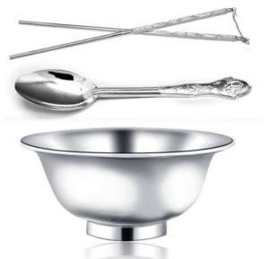 一个碗一双筷子三个勺子图片图2