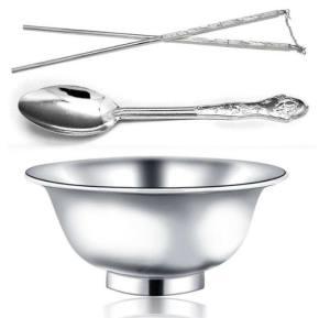 一个碗一双筷子三个勺子图片高清版分享图片1
