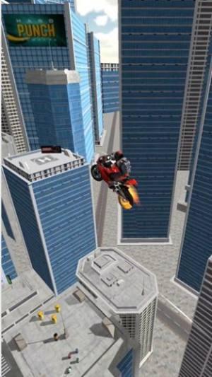 疯狂摩托飞跃城市游戏图2