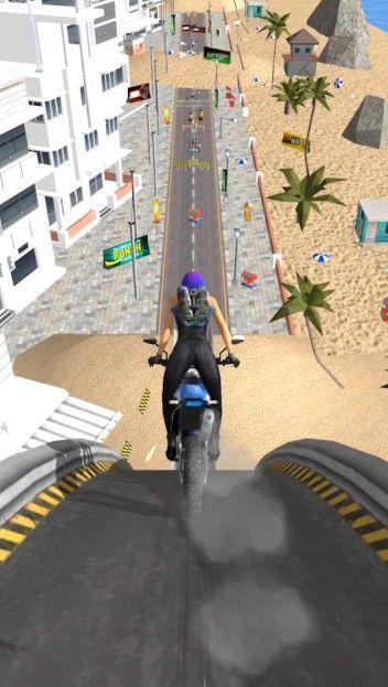 疯狂摩托飞跃城市游戏安卓版图片1