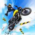 疯狂摩托飞跃城市游戏