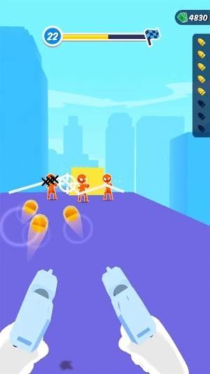 火柴人滑板英雄3D游戏无限金币破解版图片1