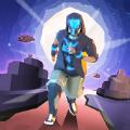 太空跑酷赛跑者游戏