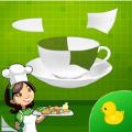 厨房拼图游戏